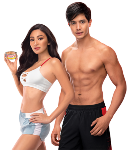 Nadine Lustre and Aiden Richards for Century Tuna Superbods 2020