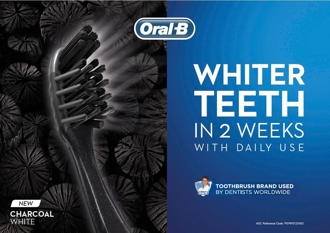 Oral-B Charcoal White