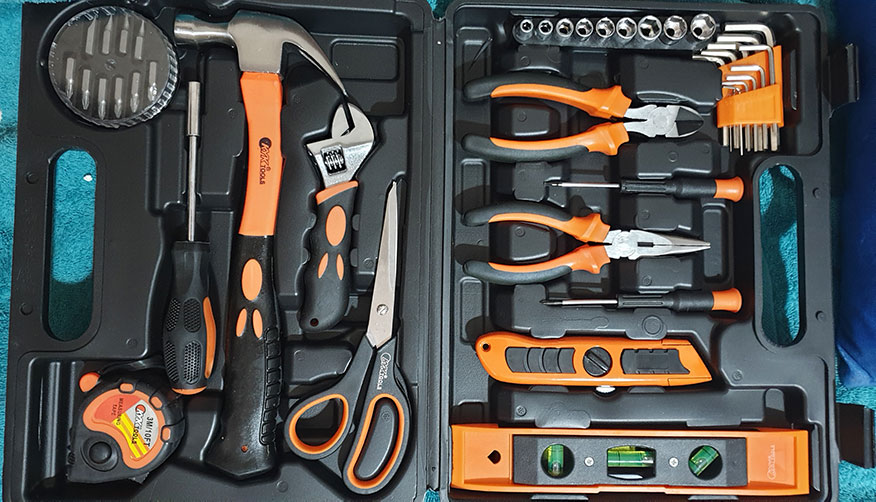 kyk 42 pc tool kit