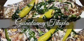 guinataang tilapia