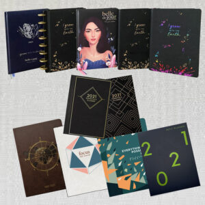 BDJ planners and notebooks