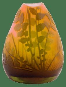 Lot 219: 19th century French Art Nouveau Galle vase