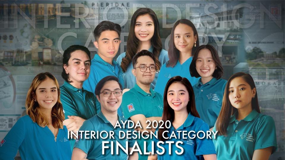AYDA 2020 Interior Design finalists