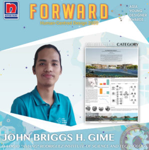 """HU-MANGROVES PROJECT by John Briggs H. Gime of Eulogio """"Amang"""" Rodriguez Institute of Science And Technology"""