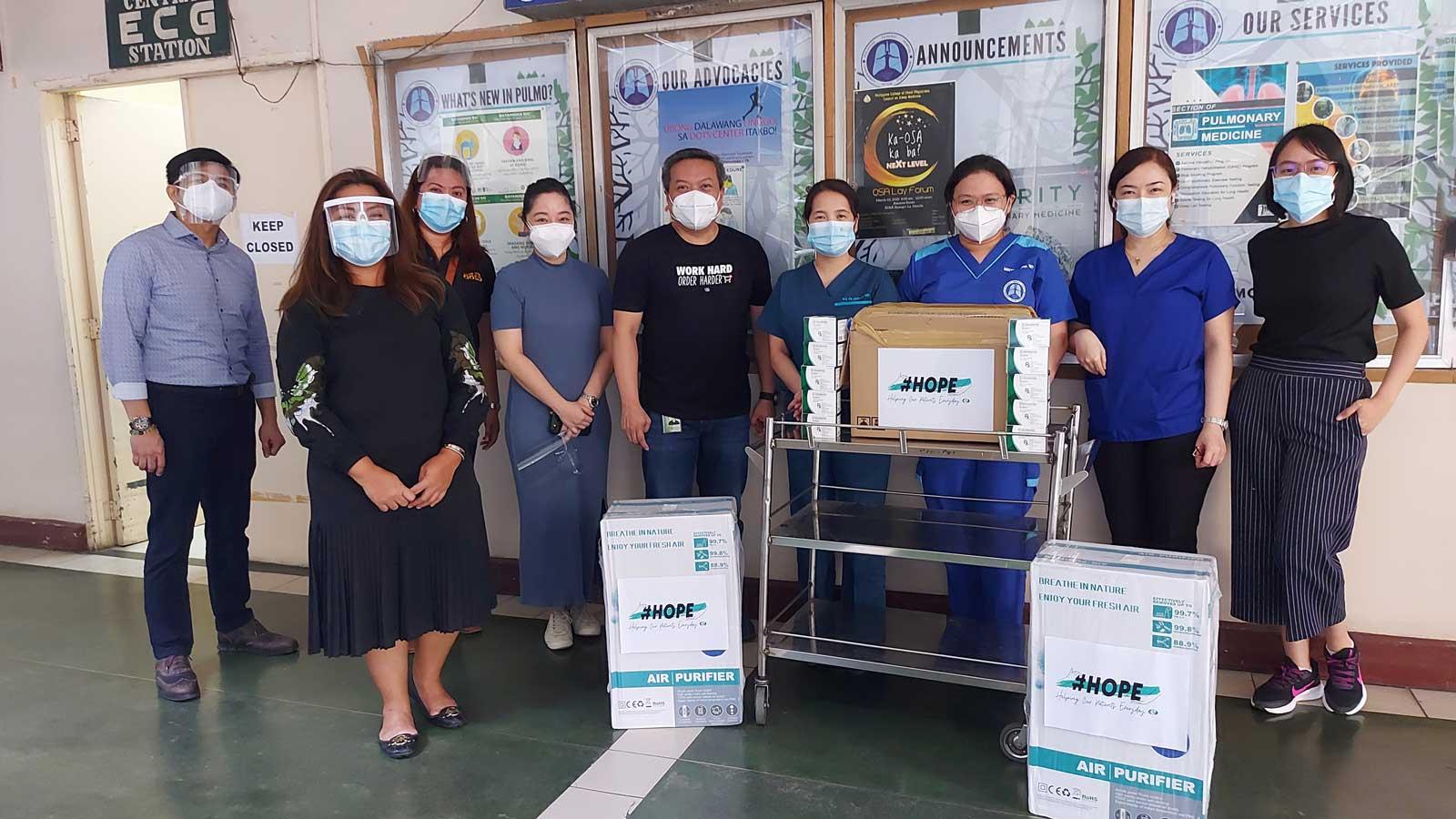 Orient Euro Pharma visits PGH