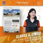 TUGHAN Clarice A. Limsui De La Salle College of St. Benilde