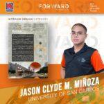 BUGSAY Jason Clyde M. Miñoza University of San Carlos