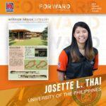 KINAGISNAN Josette L. Thai University of the Philippines