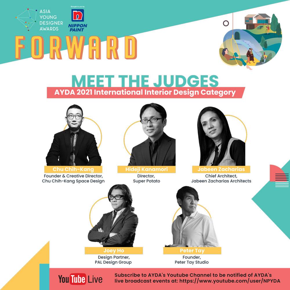 AYDA2020 Interior Design judges