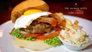 TMH Lobby Lounge Burger